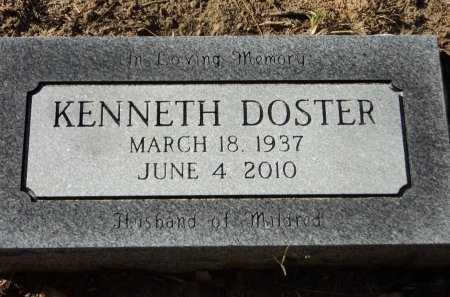 DOSTER, KENNETH - Pike County, Arkansas | KENNETH DOSTER - Arkansas Gravestone Photos