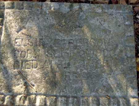 EPPERSON, ELSIE - Pike County, Arkansas   ELSIE EPPERSON - Arkansas Gravestone Photos
