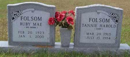 WHITE FOLSOM, RUBY MAE - Pike County, Arkansas | RUBY MAE WHITE FOLSOM - Arkansas Gravestone Photos