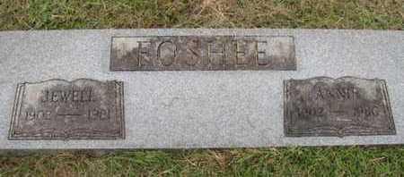 FOSHEE, ANNIE - Pike County, Arkansas | ANNIE FOSHEE - Arkansas Gravestone Photos