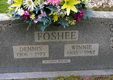 "RAY FOSHEE, WINIFRED ""WINNIE"" - Pike County, Arkansas   WINIFRED ""WINNIE"" RAY FOSHEE - Arkansas Gravestone Photos"