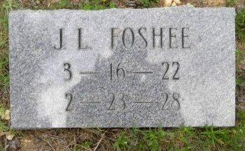 FOSHEE, J. L. - Pike County, Arkansas | J. L. FOSHEE - Arkansas Gravestone Photos