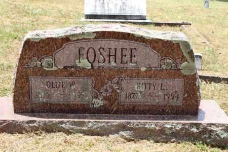 FOSHEE, KITTY L - Pike County, Arkansas | KITTY L FOSHEE - Arkansas Gravestone Photos