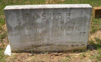 SMALLING FOSHEE, MATTIE ANN - Pike County, Arkansas | MATTIE ANN SMALLING FOSHEE - Arkansas Gravestone Photos