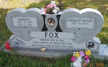 FOX, CHARLES E - Pike County, Arkansas | CHARLES E FOX - Arkansas Gravestone Photos