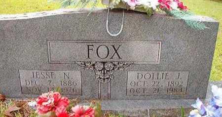 FOX, DOLLIE J - Pike County, Arkansas | DOLLIE J FOX - Arkansas Gravestone Photos