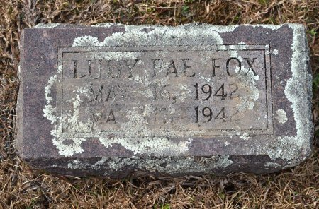 FOX, LUDY FAE - Pike County, Arkansas   LUDY FAE FOX - Arkansas Gravestone Photos