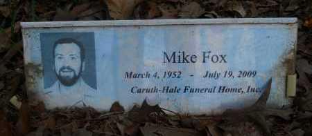 FOX, MIKE - Pike County, Arkansas   MIKE FOX - Arkansas Gravestone Photos