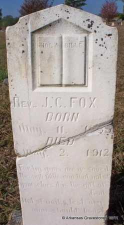 FOX, J. C. - Pike County, Arkansas | J. C. FOX - Arkansas Gravestone Photos