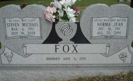 FOX, NORMA JEAN - Pike County, Arkansas   NORMA JEAN FOX - Arkansas Gravestone Photos