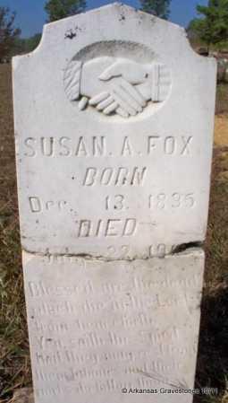 FOX, SUSAN A - Pike County, Arkansas   SUSAN A FOX - Arkansas Gravestone Photos