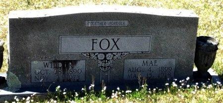 FOX, MAE - Pike County, Arkansas | MAE FOX - Arkansas Gravestone Photos