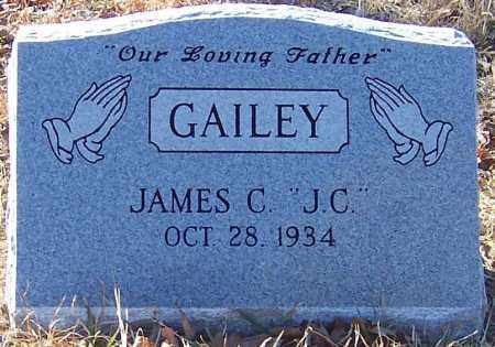 "GAILEY, JAMES C ""J C"" - Pike County, Arkansas 