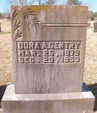 GENTRY, DORA A - Pike County, Arkansas | DORA A GENTRY - Arkansas Gravestone Photos