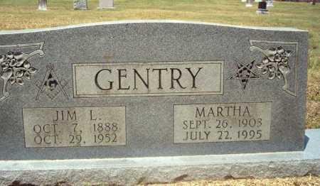 GENTRY, MARTHA - Pike County, Arkansas | MARTHA GENTRY - Arkansas Gravestone Photos