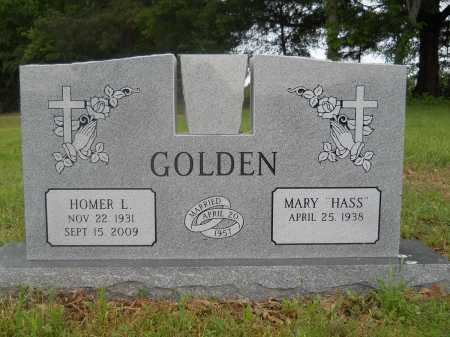 GOLDEN, HOMER L - Pike County, Arkansas | HOMER L GOLDEN - Arkansas Gravestone Photos
