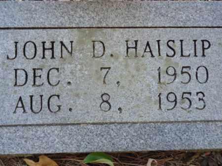 HAISLIP, JOHN D - Pike County, Arkansas   JOHN D HAISLIP - Arkansas Gravestone Photos