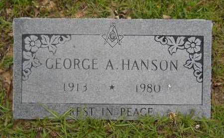 HANSON, GEORGE A - Pike County, Arkansas | GEORGE A HANSON - Arkansas Gravestone Photos