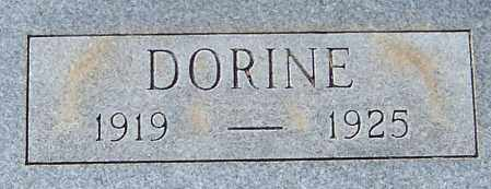 HARRIS, DORINE (CLOSEUP) - Pike County, Arkansas | DORINE (CLOSEUP) HARRIS - Arkansas Gravestone Photos
