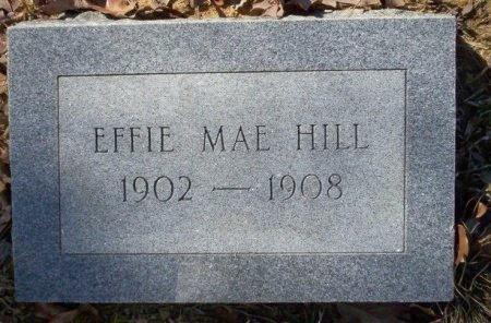 HILL, EFFIE MAE - Pike County, Arkansas | EFFIE MAE HILL - Arkansas Gravestone Photos