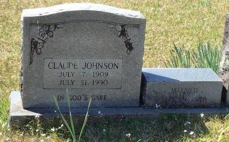 JOHNSON, CLAUDE - Pike County, Arkansas   CLAUDE JOHNSON - Arkansas Gravestone Photos