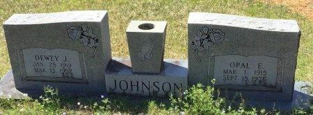 JOHNSON, OPAL E. - Pike County, Arkansas | OPAL E. JOHNSON - Arkansas Gravestone Photos