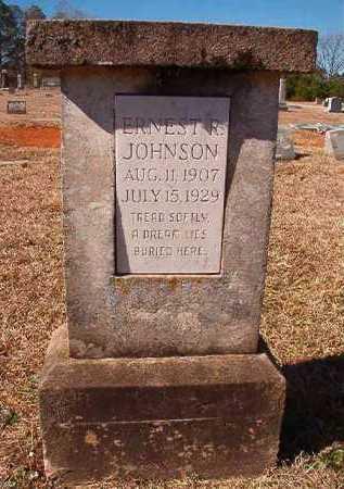 JOHNSON, ERNEST R - Pike County, Arkansas   ERNEST R JOHNSON - Arkansas Gravestone Photos