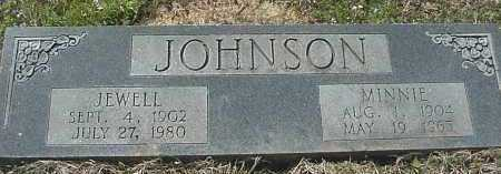 JOHNSON, MINNIE LEE - Pike County, Arkansas   MINNIE LEE JOHNSON - Arkansas Gravestone Photos