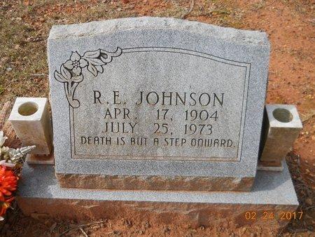 JOHNSON, R E - Pike County, Arkansas   R E JOHNSON - Arkansas Gravestone Photos