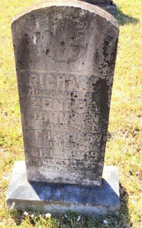 JOHNSON, RICHARD - Pike County, Arkansas | RICHARD JOHNSON - Arkansas Gravestone Photos
