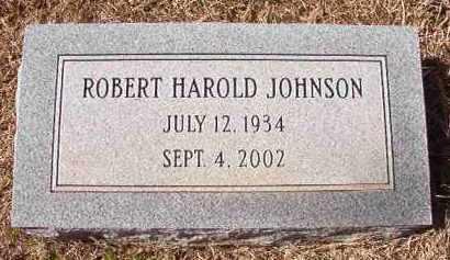 JOHNSON, ROBERT HAROLD - Pike County, Arkansas | ROBERT HAROLD JOHNSON - Arkansas Gravestone Photos