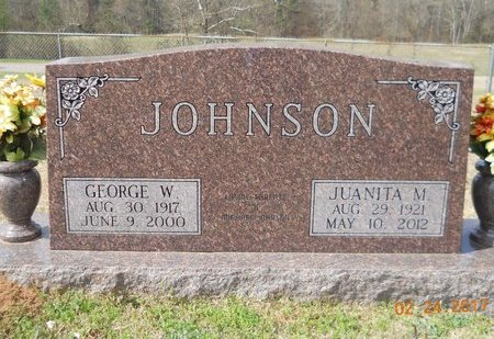 JOHNSON, JUANITA M - Pike County, Arkansas | JUANITA M JOHNSON - Arkansas Gravestone Photos