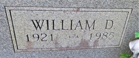 JOHNSON, WILLIAM D. (CLOSEUP) - Pike County, Arkansas | WILLIAM D. (CLOSEUP) JOHNSON - Arkansas Gravestone Photos