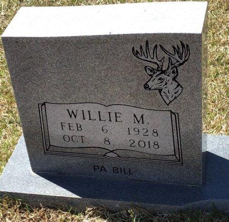 JOHNSON, WILLIE M. (CLOSEUP) - Pike County, Arkansas | WILLIE M. (CLOSEUP) JOHNSON - Arkansas Gravestone Photos