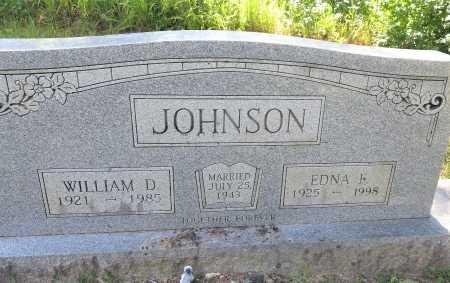 JOHNSON, EDNA F. - Pike County, Arkansas | EDNA F. JOHNSON - Arkansas Gravestone Photos