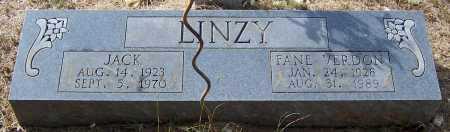 LINZY, GLORIA FANE - Pike County, Arkansas | GLORIA FANE LINZY - Arkansas Gravestone Photos