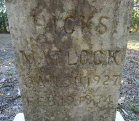 MATLOCK, HICKS - Pike County, Arkansas   HICKS MATLOCK - Arkansas Gravestone Photos