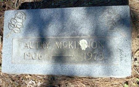 MCKINNON, AUTRY - Pike County, Arkansas | AUTRY MCKINNON - Arkansas Gravestone Photos