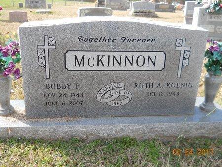 MCKINNON, BOBBY F - Pike County, Arkansas | BOBBY F MCKINNON - Arkansas Gravestone Photos