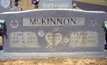 MCKINNON, CLARA F - Pike County, Arkansas | CLARA F MCKINNON - Arkansas Gravestone Photos