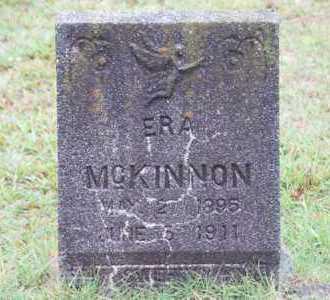 MCKINNON, ERA - Pike County, Arkansas   ERA MCKINNON - Arkansas Gravestone Photos