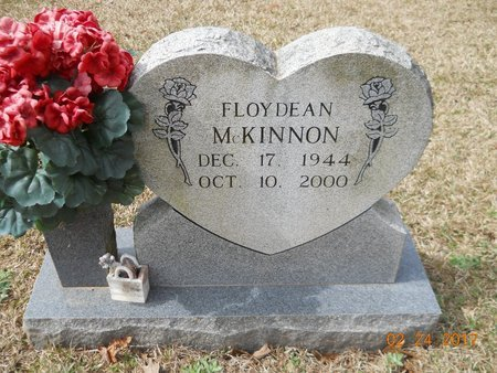 MCKINNON, FLOY DEAN - Pike County, Arkansas   FLOY DEAN MCKINNON - Arkansas Gravestone Photos