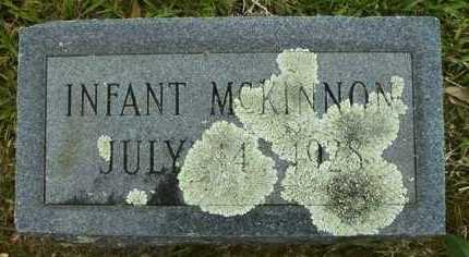 MCKINNON, INFANT - Pike County, Arkansas | INFANT MCKINNON - Arkansas Gravestone Photos