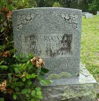 MCKINNON, LORA - Pike County, Arkansas   LORA MCKINNON - Arkansas Gravestone Photos
