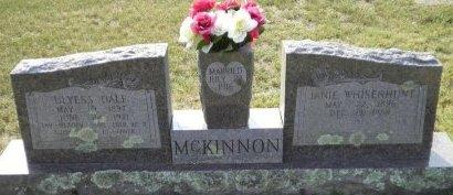 MCKINNON, ULYESS DALE - Pike County, Arkansas | ULYESS DALE MCKINNON - Arkansas Gravestone Photos