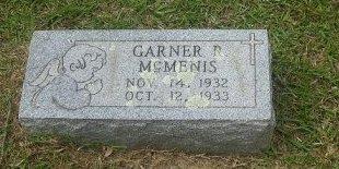 MCMENIS, GARNER ROOSEVELT - Pike County, Arkansas | GARNER ROOSEVELT MCMENIS - Arkansas Gravestone Photos