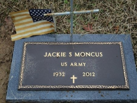 MONCUS (VETERAN), JACKIE SMITHIE - Pike County, Arkansas | JACKIE SMITHIE MONCUS (VETERAN) - Arkansas Gravestone Photos