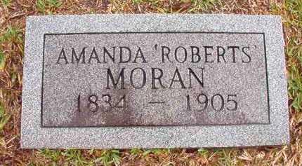 MORAN, AMANDA - Pike County, Arkansas | AMANDA MORAN - Arkansas Gravestone Photos