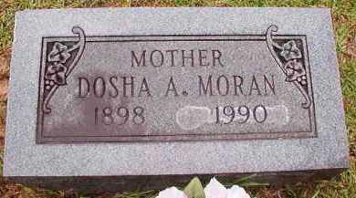 MORAN, DOSHA A - Pike County, Arkansas | DOSHA A MORAN - Arkansas Gravestone Photos
