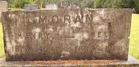 MORAN, BELL - Pike County, Arkansas   BELL MORAN - Arkansas Gravestone Photos